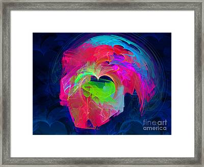 X Framed Print by English Landscapes