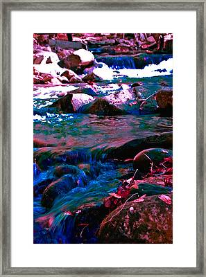 Xanadu Framed Print by DigiArt Diaries by Vicky B Fuller