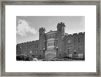 Xavier University Hinkle Hall Framed Print by University Icons