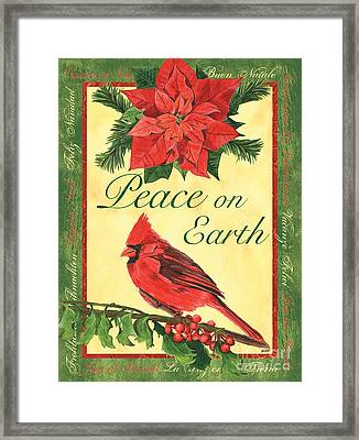 Xmas Around The World 1 Framed Print by Debbie DeWitt