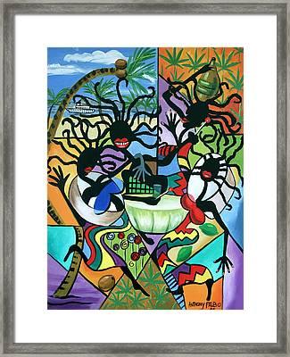 Ya Mon Framed Print by Anthony Falbo