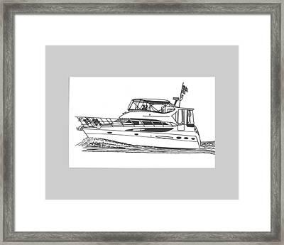 Yachting Good Times Framed Print by Jack Pumphrey