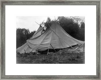 Yakama Teepee, C1910 Framed Print by Granger