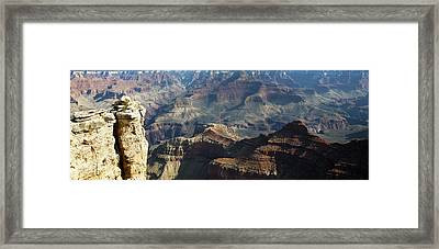 Yaki Point Grand Canyon Framed Print by Gilbert Artiaga