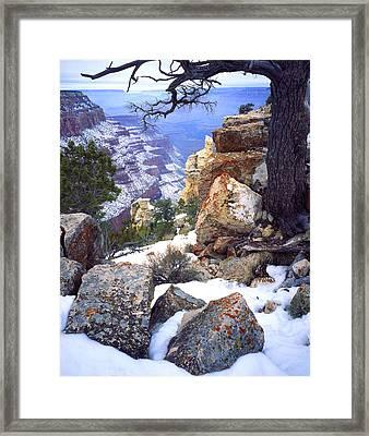 Yaki Point  Framed Print by Ray Mathis