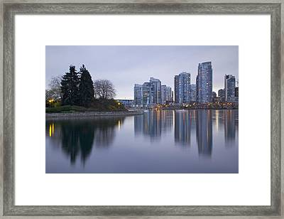 Yaletown Framed Print by Genaro Rojas