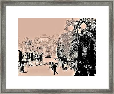 Yalta Streets  Framed Print by Rick Todaro