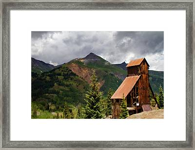 Yankee Girl Mine 2 Framed Print by Lana Trussell