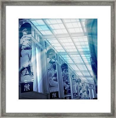 Yankee Immortals Framed Print by Aurelio Zucco
