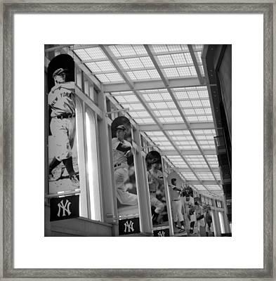 Yankee Legends Framed Print by Aurelio Zucco