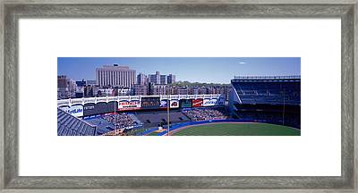 Yankee Stadium Ny Usa Framed Print by Panoramic Images
