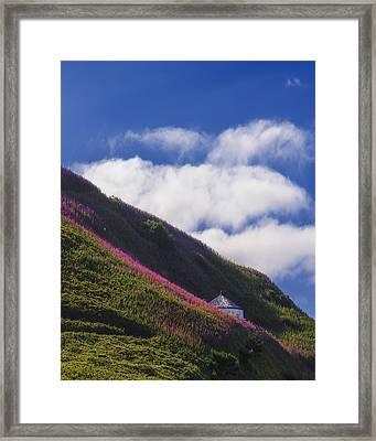 Yaquina Wild Framed Print by Ryan Manuel
