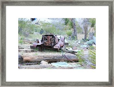 Yard  Art  Framed Print by Gilbert Artiaga