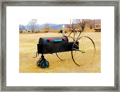 Yard Art Framed Print by Jon Burch Photography