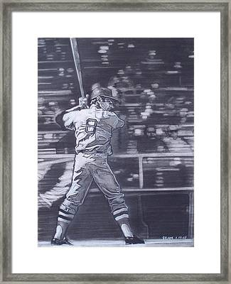 Yaz - Carl Yastrzemski Framed Print by Sean Connolly