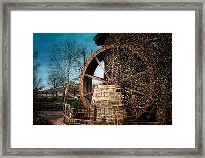 Ye Olde Mill Framed Print by Tom Mc Nemar