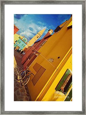 Yellow Mellow Framed Print by Danilo Piccioni