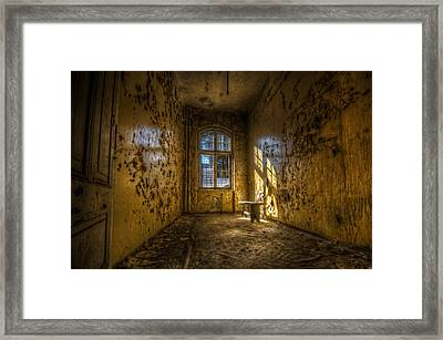 Yellow Room Framed Print by Nathan Wright
