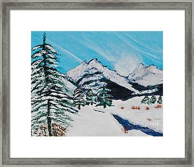 Yellowstone Dream Framed Print by Lloyd Alexander
