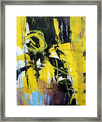 Yellowtale Framed Print by Katie Black