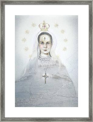Yemaya Framed Print by Denise Laurin