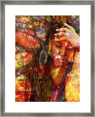 Yep  Framed Print by Fania Simon