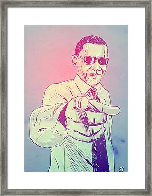 Yes You Can Framed Print by Giuseppe Cristiano