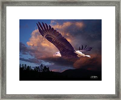 Yeshua Is Calling Framed Print by Bill Stephens