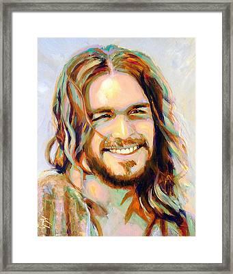 Yeshua Framed Print by Steve Gamba