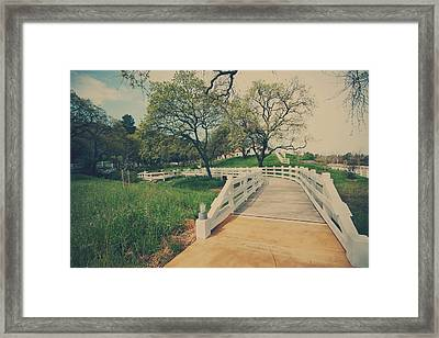 Yesterday Came Suddenly Framed Print by Laurie Search
