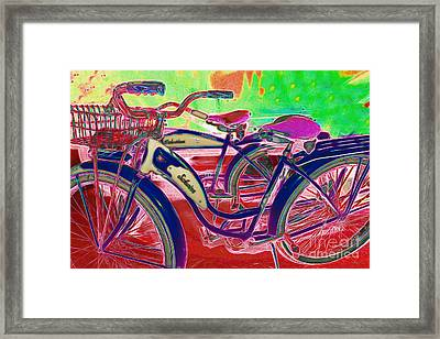 Yesterday It Seemed Life Was So Wonderful 5d25760 P153 Framed Print by Wingsdomain Art and Photography