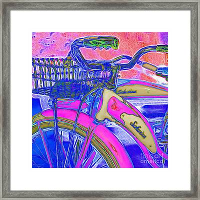 Yesterday It Seemed Life Was So Wonderful 5d25760 Square P45 Framed Print by Wingsdomain Art and Photography