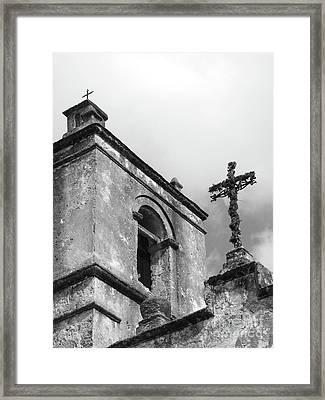 Yesterday Today Eternity Framed Print by Joe Jake Pratt