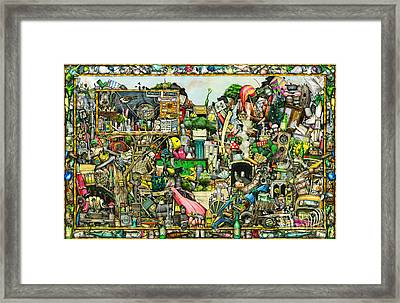 Yesterday's Treasure Framed Print by Colin Thompson