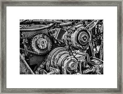 Yesterday's Work Framed Print by Tamyra Ayles