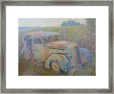 Yesteryear Catlins 1980s Framed Print by Terry Perham