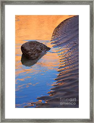 Yin And Yang Framed Print by Inge Johnsson