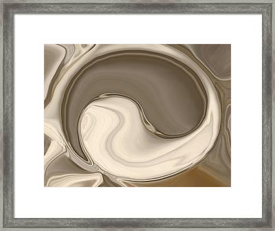 Yin Yang Framed Print by Chad Miller