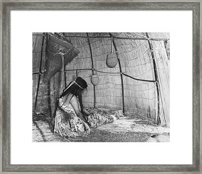 Yokut Home Interior Framed Print by Underwood Archives Onia
