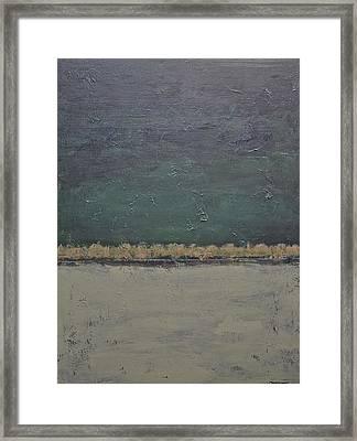 Yonder Creek Framed Print by Jim Ellis
