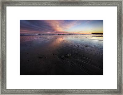 York Beach Framed Print by Eric Gendron