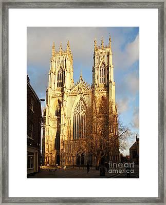 York Minster Framed Print by Neil Finnemore