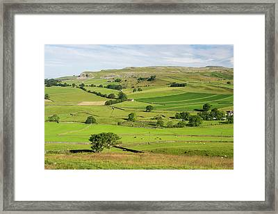 Yorkshire Dales Scenery Framed Print by Ashley Cooper
