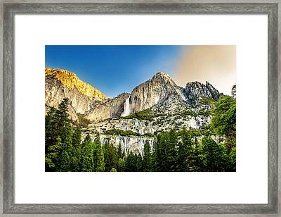 Yosemite Falls  Framed Print by Az Jackson