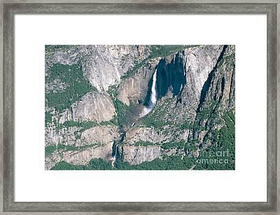 Yosemite Falls Framed Print by Mark Newman
