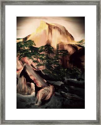Yosemite Framed Print by Magdalena Silbertson
