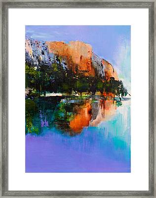 Yosemite Valley Framed Print by Elise Palmigiani