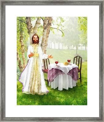 You Are Invited Framed Print by Francesa Miller