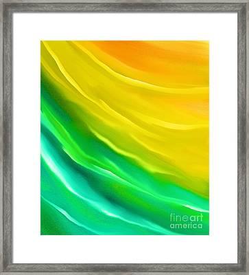 You Are My Sunshine Framed Print by Hilda Lechuga