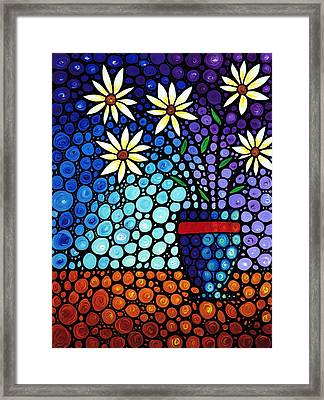You Cant Hide Beautiful Framed Print by Sharon Cummings